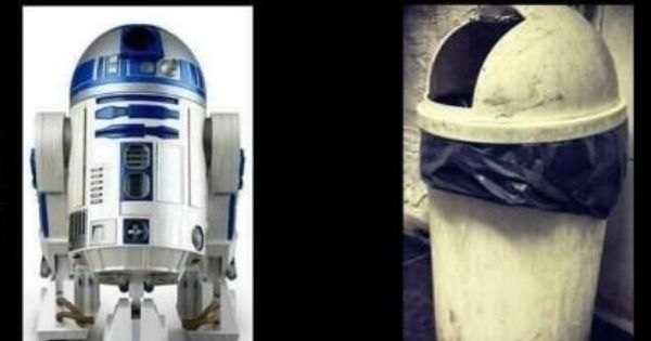 R2-D2 Funny On Meth Comparison - wish we could use this in