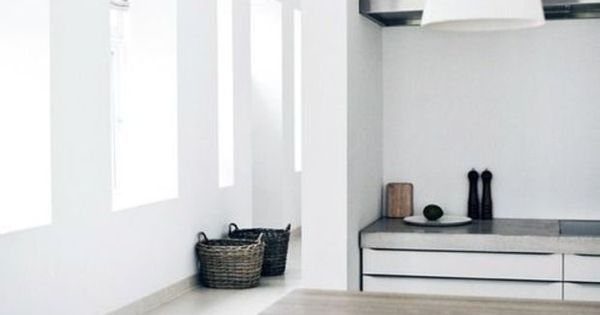 22 examples of minimal interior design 39 keuken wit keuken en idee n - Keuken minimalistisch design ...