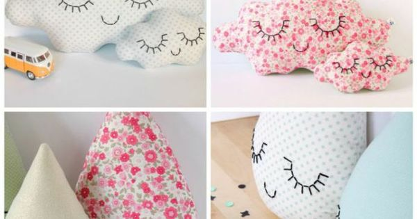 Cojines en tela para beb s diy bebes pinterest diy y for Manualidades decoracion bebe