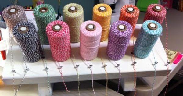 Twine Ribbon Holder Twine Ribbon Holders Crochet Earrings