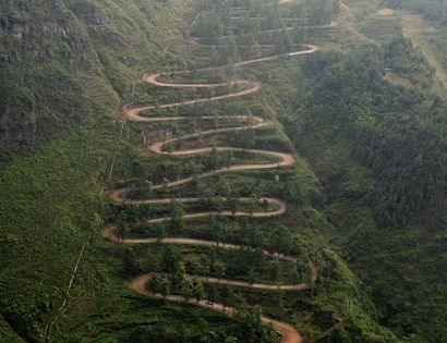 Long and winding road to Hana. A hair-raising drive with beautiful awe