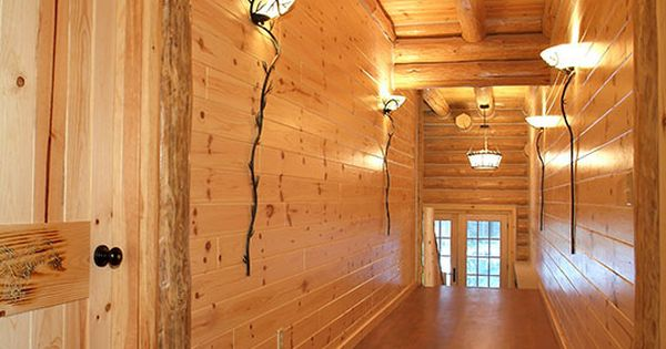 Knotty Red Pine Paneling (tongue & groove) | WoodHaven Log