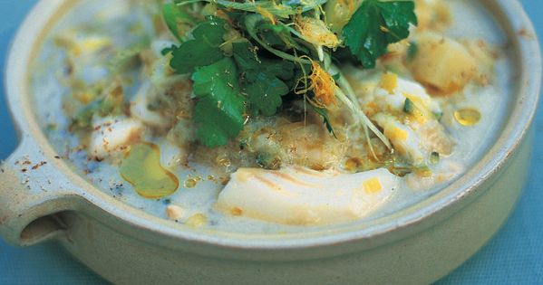 Cod Potato And Spring Onion Stew Recipe Jamie Oliver