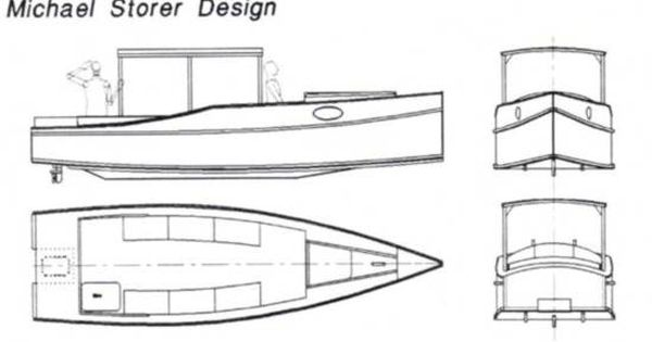 Dayboat Launch - Simple cruising outboard boat - Michael Storer Boat Design | power skiff ...