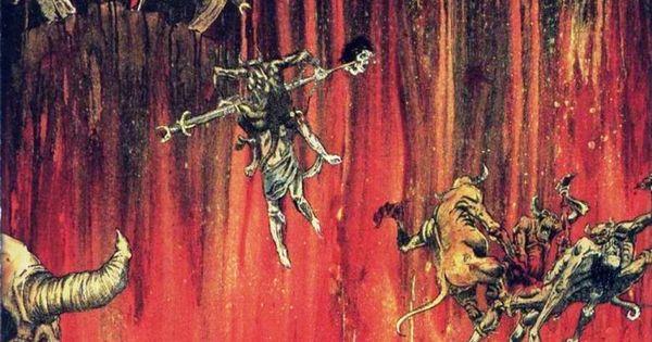 """Hell Awaits"", cover art by Slayer. | Album artwork ..."