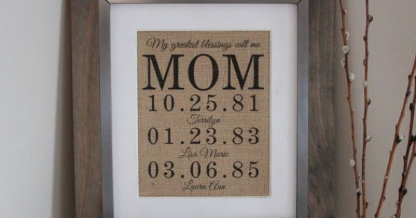 Mothers Day Gift For Grandma Birthday Gift For Mom Mom