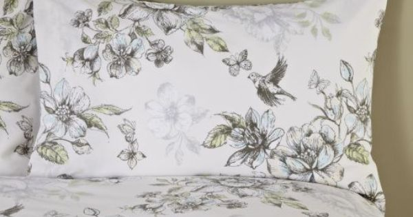 By Sainsbury S Botanical Floral Print Duvet Cover Set