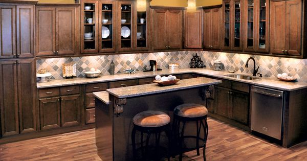 Chestnut avalon kitchen cabinets kitchen cabinets for Avalon kitchen cabinets