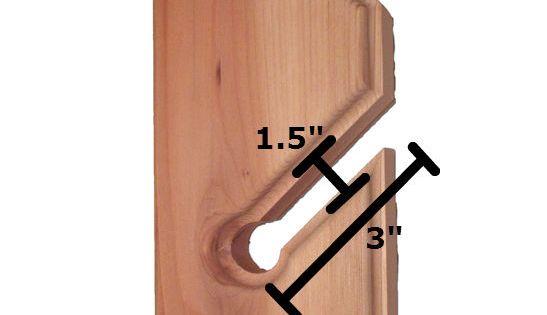 Simple plan with measurements skateboard racks for Skateboard chair plans
