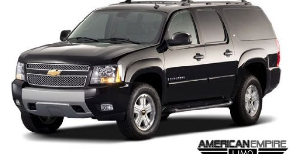 7 Passenger Chevrolet Suburban Suv Limousine Chevrolet Suburban