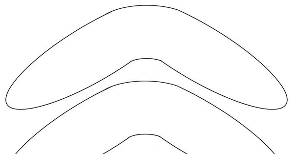 Boomerang template free to use temp ate t me for Australian boomerang template