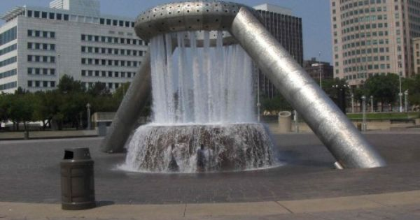 Vaillancourt Fountain San Francisco Usa Fountains Waterfall