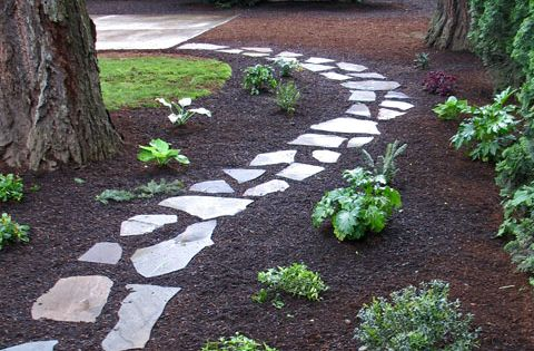 Paths & Walkways by Precision Landscape Services. Just a small stroll in