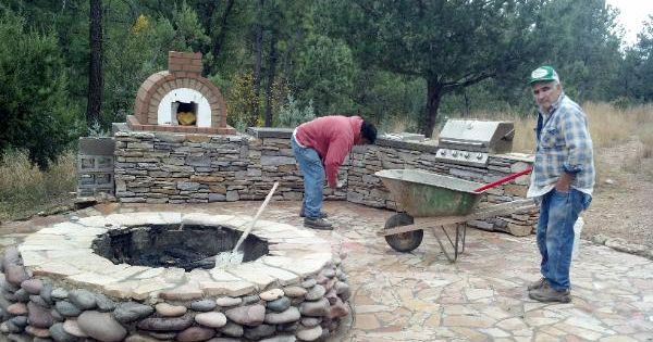 how to build a brick oven at home