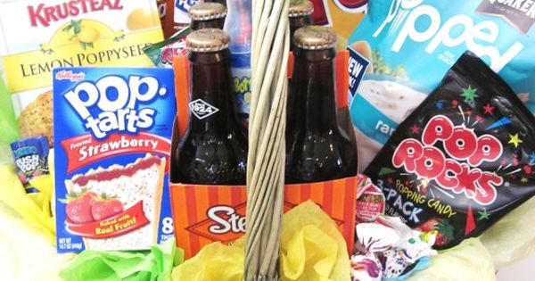 """Pop"" gift basket! Perfect for Father's Day or for a new dad!"