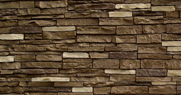 Shop Nextstone Brunswick Brown Slatestone Faux Stone