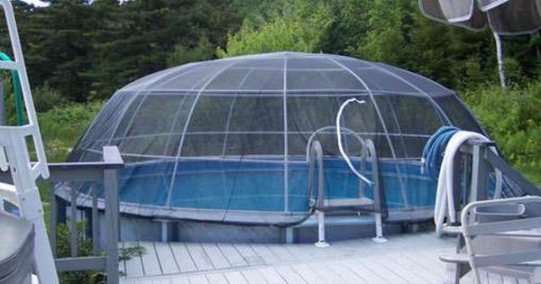 The Pool Igloo Above Ground Pool Screen Cage System