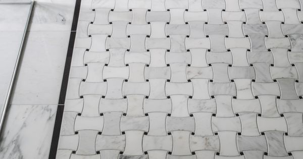 The Basketweave Tile Pattern Draws On The Classic