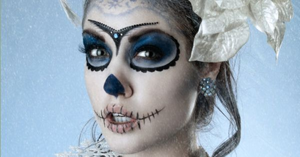 pretty skeleton makeup