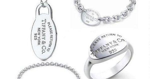 Tiffany & Co Outlet 925 Silver Four Pieces Set [ TC06036] -