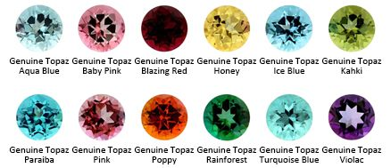 Topaz - peace and tranquility, loyalty and eternal love; protection and  personal strength in 2020 | What color is topaz, Topaz color, Color
