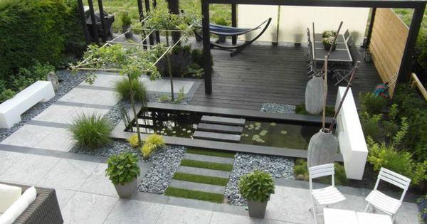De 15 mooiste moderne tuinen vindt u hier tuinideen japanse tuinen - Claustra ontwerp pour terras ...