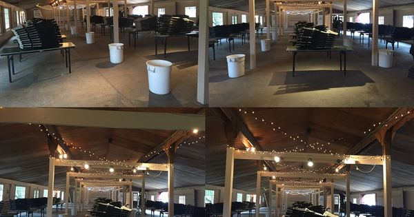 Lights In The Pavilion At Smokey Glen Farm Gaithersburg Maryland Company Picnic Corporate Events Smokey