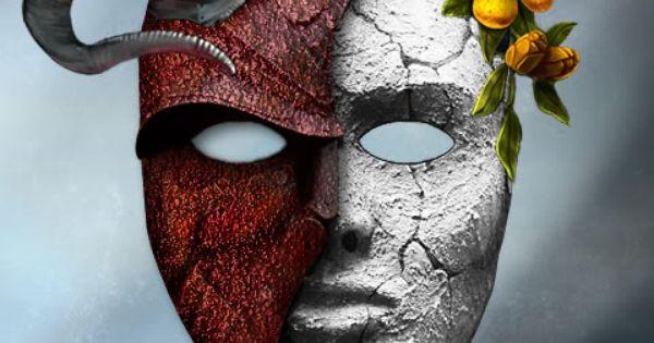Good and Evil Mask - Bing Images   Masks   Pinterest ...