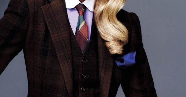 Maryna Lunchuk by Sharif Hamza for Vogue Japan: Gorgeous blazer. | See more about Vogue Japan, Vogue and Blazers.