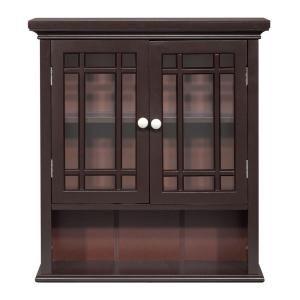 19+ 215 in w x 24 in h bathroom storage wall cabinet in espresso inspiration