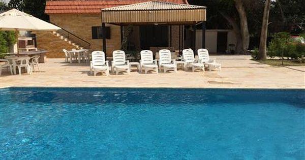 مزرعه مع مسبح للايجار اليومي Swimming Pool Designs Pool Designs Swimming Pools