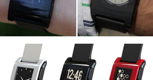 Pebble Smart Watch.