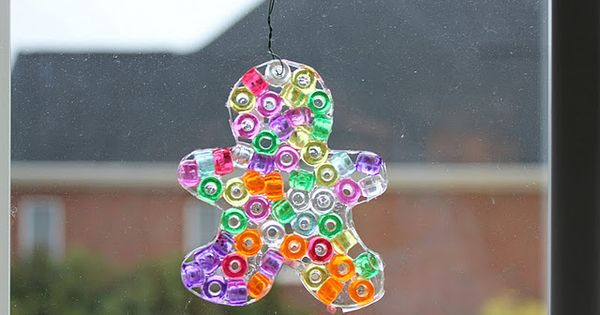 Pony Bead Ornament, got all the materials and gonna make these with