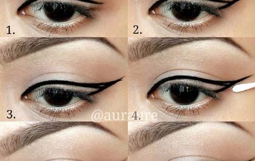 Appliquer de l 39 eyeliner facilement 7 tutos parfait fils et comment - Comment mettre de l eye liner ...