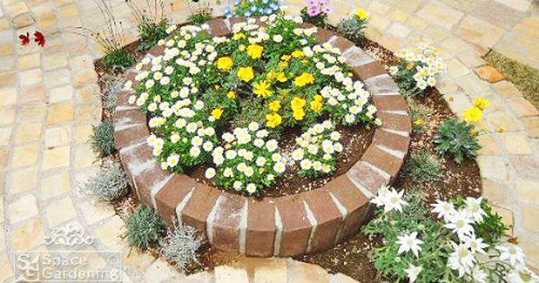 庭 花壇 レンガ 花壇 レンガ 花壇 新築 庭