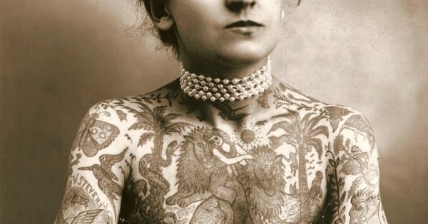 Maud Wagner ( born Maud Stevens) Famous Tattooed Lady, one of the