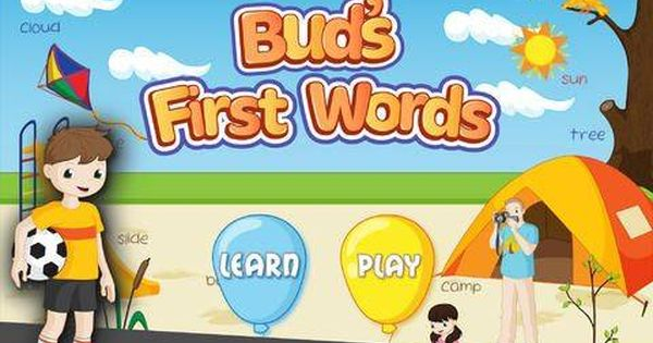 Bud S First English Words Vocabulary Builder Reading Game