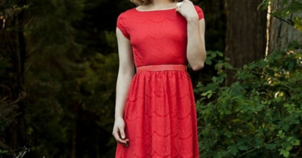 "Pretty dress! Shabby Apple ""Red Queen"" Dress."