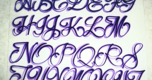 Girly tattoo fonts tattoo lettering designs script for Girly font tattoo