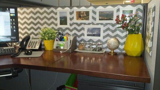 Cubicle decor Ideas Pinterest Cubicle, Office spaces