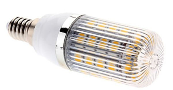 E14 7w 36x5050 Smd 700 750lm 2700 3200k Warm White Light Led Corn Bulb 85 265v Lightsuperdeal Com Warm White Led Light Bulbs Led