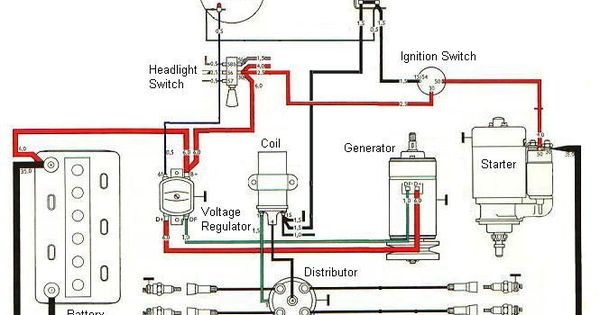 tractor ignition switch wiring diagram | see how simple it ... motorcycle basic ignition wiring diagram #3