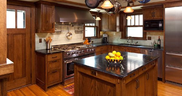 I Like The Cabinet Stain With Our Floors Soapstone