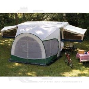 Dometic 7ft Cabana Lightweight Dome Awning And Screen Room Awnings Rooms Screens Extensions Outdoor Living Rv Lifestyl Tent Awning Tent Camper Awnings
