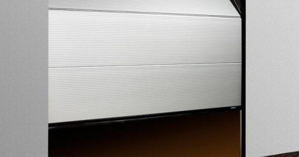 Porte de garage sectionnelle micro rainure en aluminium de - Couleur porte de garage ...