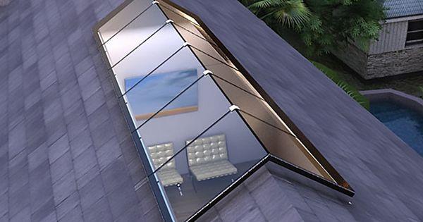Structural Ridge Standardized Glass Skylight Bellwether