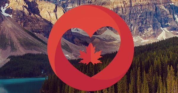 Mountain Landscape Lake Canada Watermark #iPhone 4s