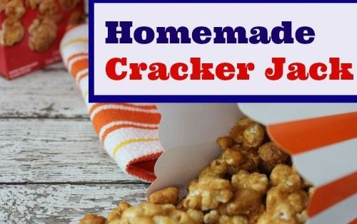 Homemade Cracker Jack | Recipe | Homemade crackers ...