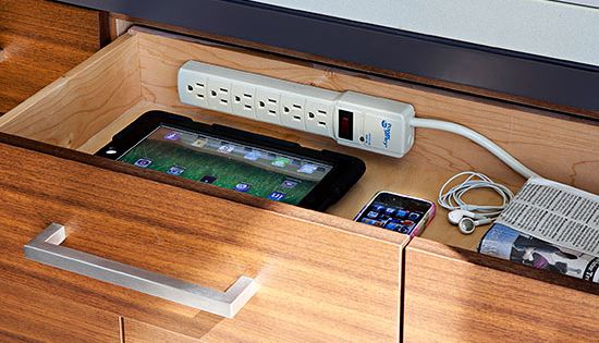 Create A Kitchen For Entertaining More Power Strip