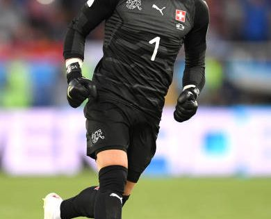 Yann Sommer Of Switzerland Celebrates His Team S First Goal During The 2018 Fifa World Cup Russia Group E Match Between Serbia An Fifa World Cup Fifa World Cup
